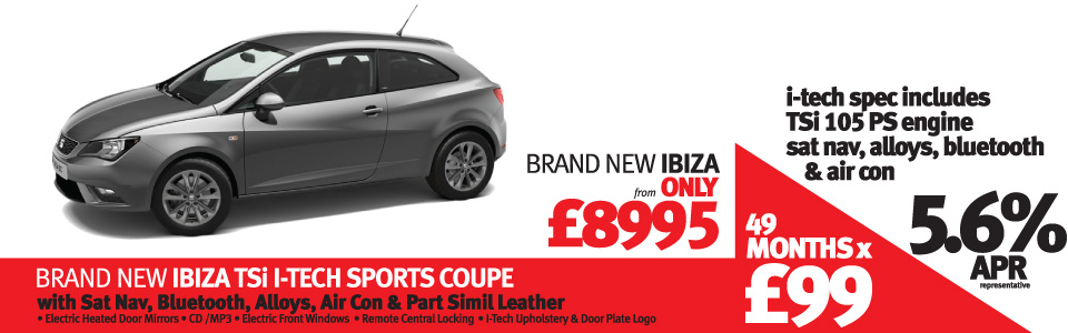Ibiza I-TECH 3DR Special offer