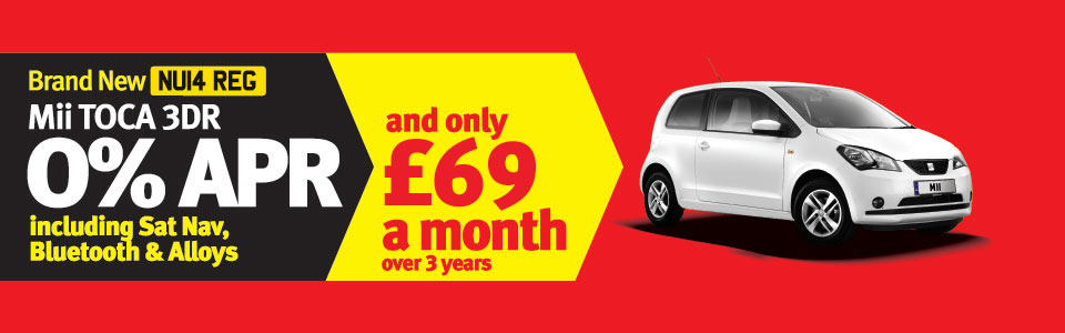 Mii TOCA 3DR Special Offer - 0% APR £69 a month